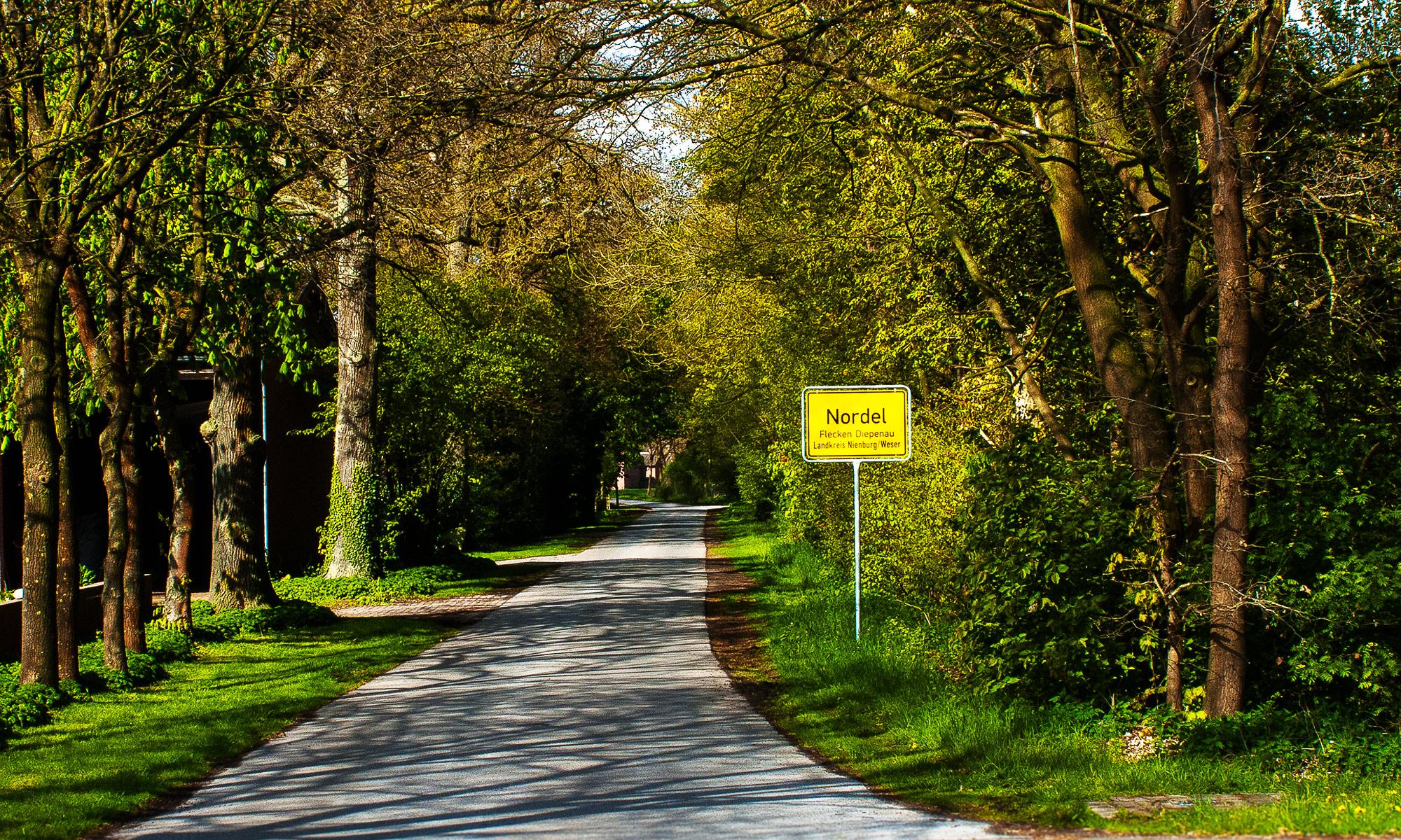 Nordel, Kreis Diepenau