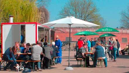 strahlenderSonnenschein am 9.4.2017 beim Hoftag auf dem Meisterhof Wehdebrock